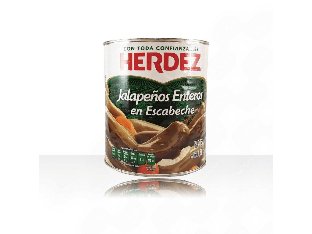 JALE28 Jalapeno entero Herdez 2.8kg