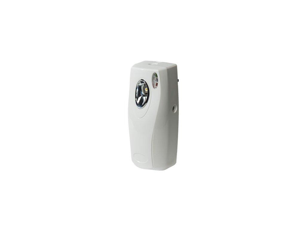 White automatic air freshener unit set