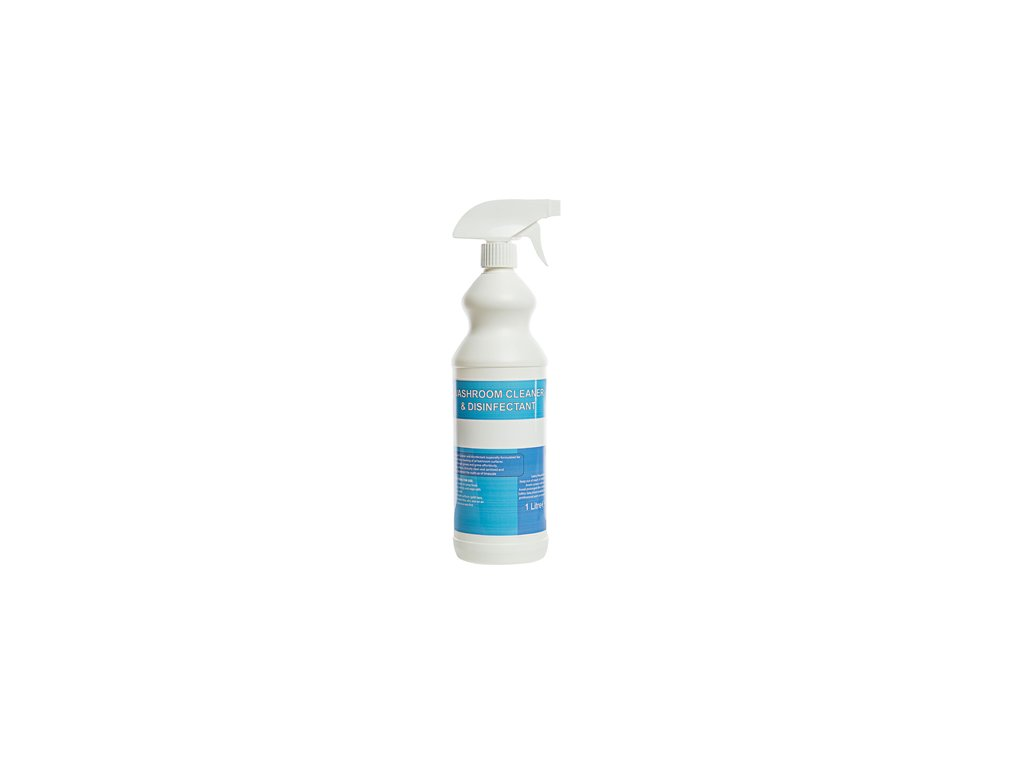 washroom cleaner and disinfectant