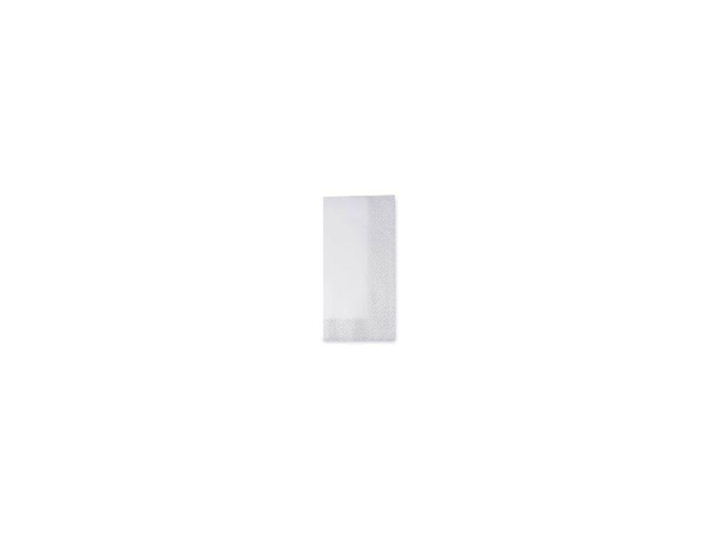 33x33 1 8 Fold 3ply Dinner napkins white