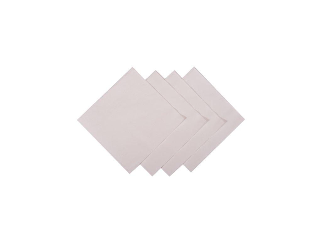 White cocktail napkins