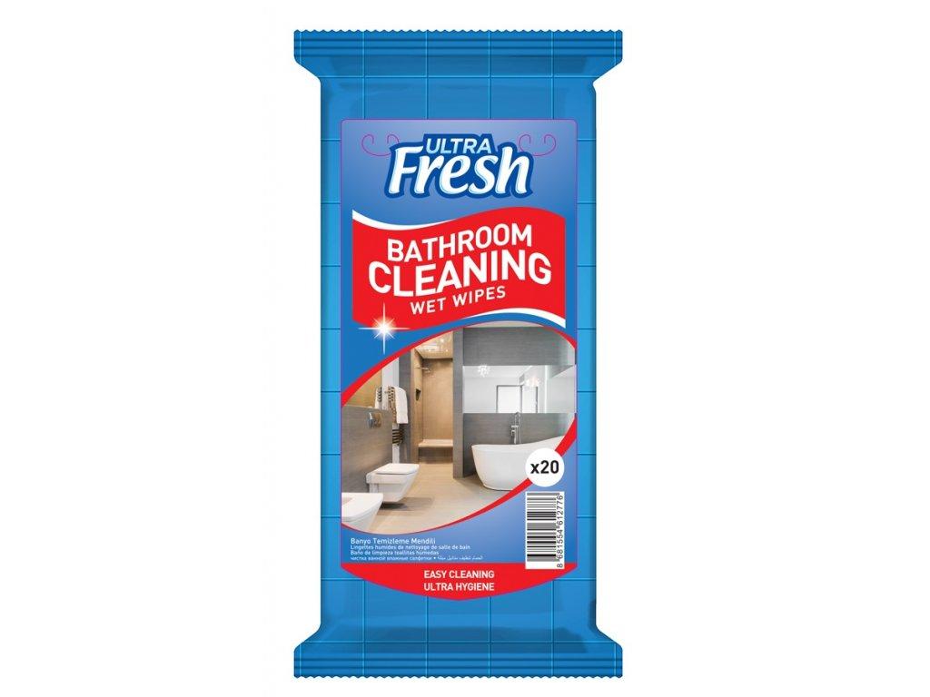 Čistící ubrousky na koupelnu 20 ks