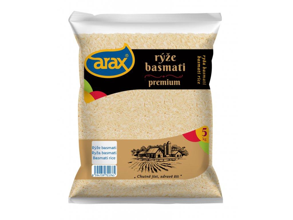 ARAX Rýže basmati 5kg 3Dv2 small
