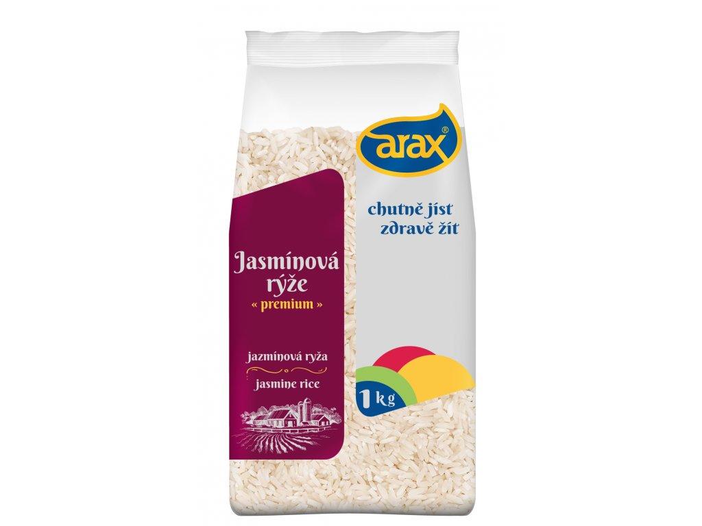ARAX Rýže dlouhozrnná 1kg 3Dv1