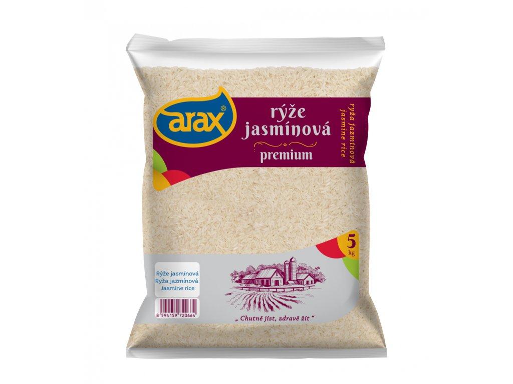 ARAX Rýže jasmínová 5 kg 3Dv1 small