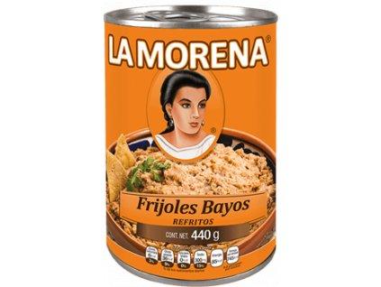 La Morena Frijoles Bayos Refritos 440