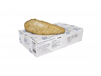 134 battered cod fillets 140 170g frozen