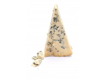 Blue Stilton white background