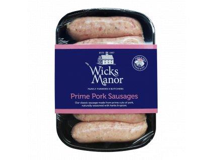 WM Pack Prime Pork Sausages