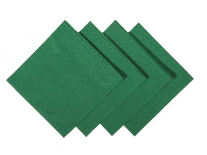 Dark Green Cocktail Napkins