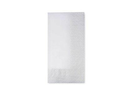 40x40 1 8 Fold 2ply White dinner napkins