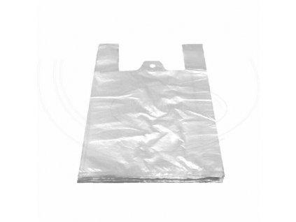 Taška blokovaná bílá 10kg (HDPE) 30+18x55cm /100 ks