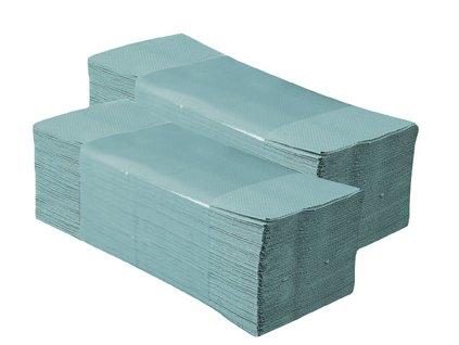 Papirove rucniky ZZ BASIC zelene 5000 ks