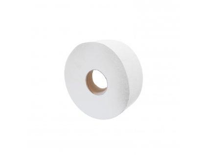 Toaletni papi r dvouvrstvy bílý jumbo 19 cm, 12 ks