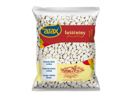 ARAX Fazole bílá velká 5kg 3Dv1 small