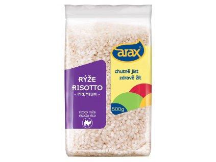 ARAX Rýže rissoto Arborio 500g 3D