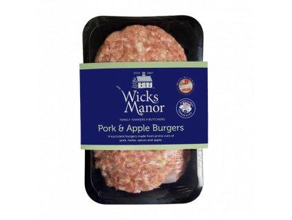 Pork and Apple Burgers 454g