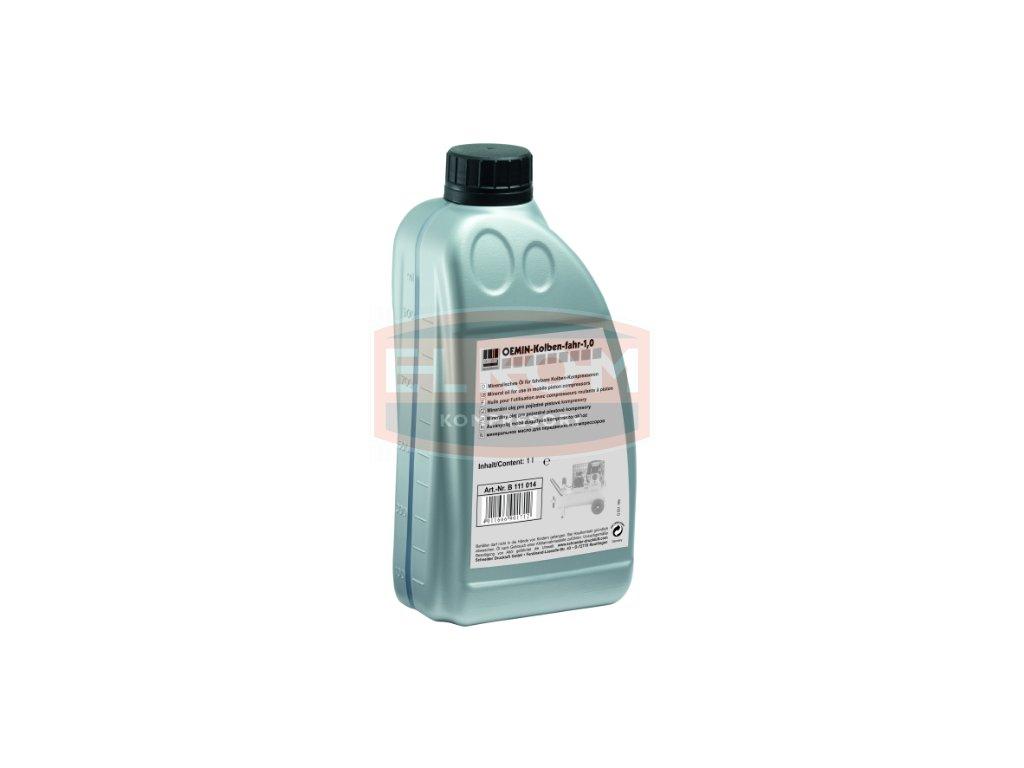 Minerální olej pro pístové kompresory