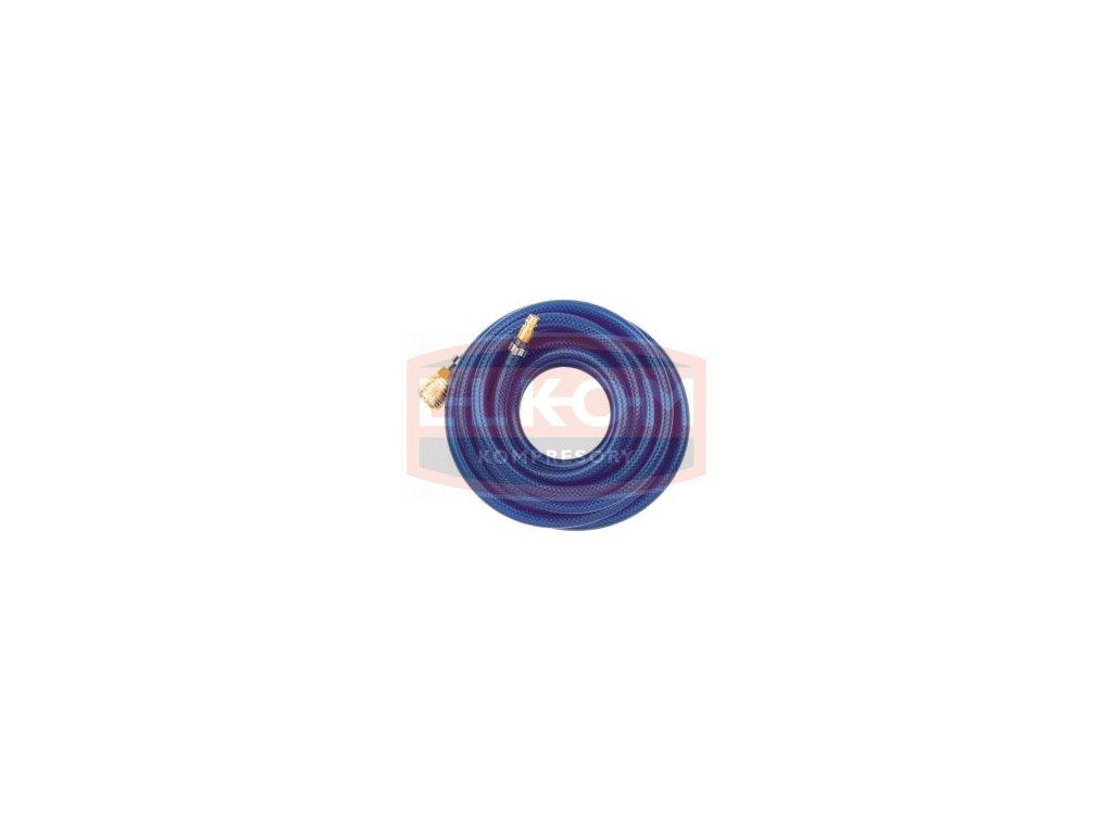 Hadice s textilní vložkou 15x9 mm / 10 m