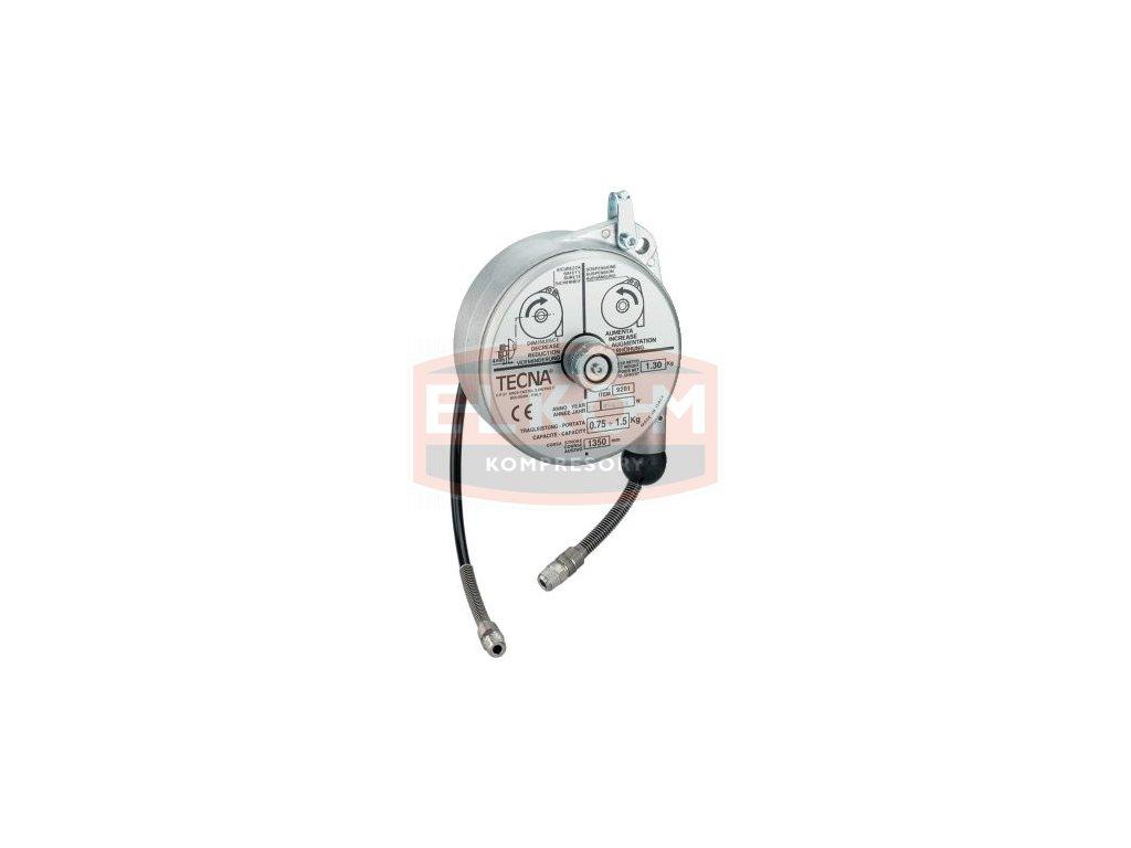 Balancér s hadicí PUR 6x1 mm / délka zdvihu 1,4 m / nosnost 1,5 kg