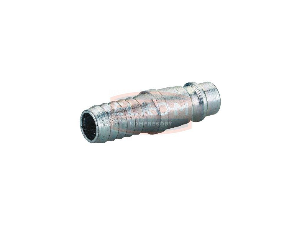 Ocelová vsuvka DN 7,6 / s trnem na hadici 9 mm