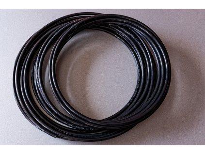 Hadička PE 12x10 mm / černá / 25m