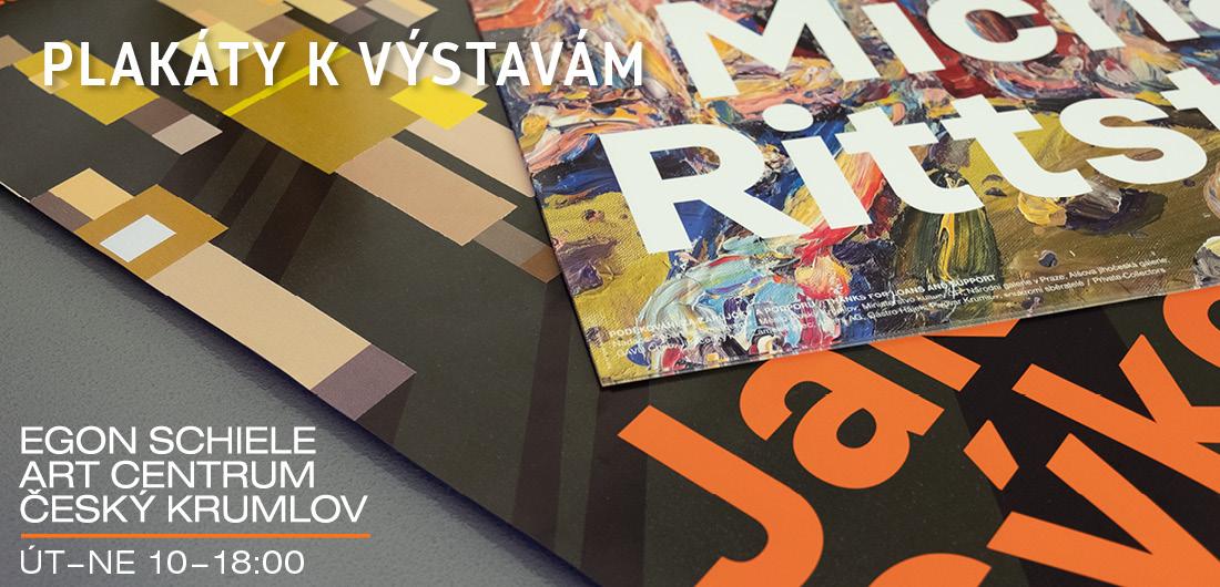 Plakáty k výstavám