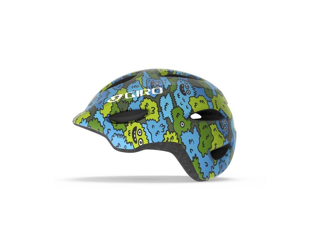 GIRO Scamp Blue/Green Creature Camo