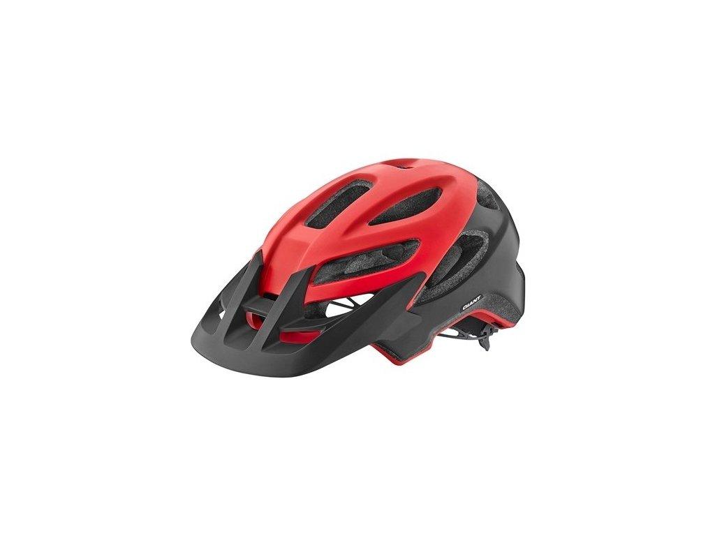 Cyklistická přilba GIANT ROOST, red