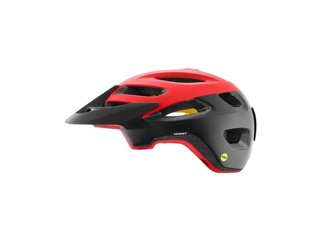 Cyklistická přilba GIANT ROOST MIPS, matte red