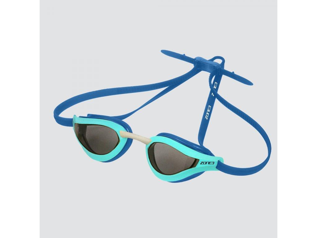 Viper Speed - Streamline Racing Goggles - SMOKE LENS - GREY/LIME/BLACK - OS