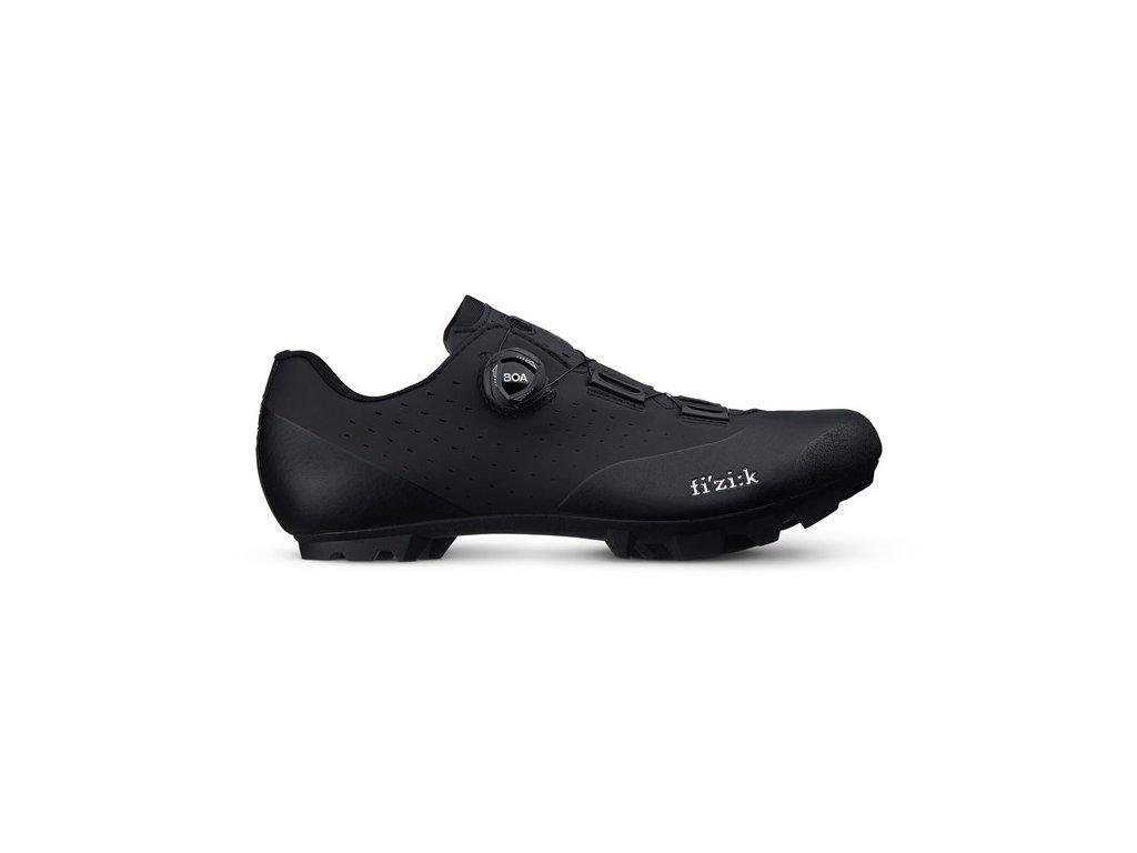Cyklistické tretry Fizik Vento X3 Overcurve-black/black