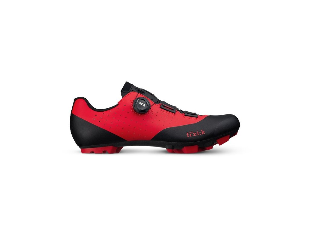 Cyklistické tretry Fizik Vento X3 Overcurve-red/black