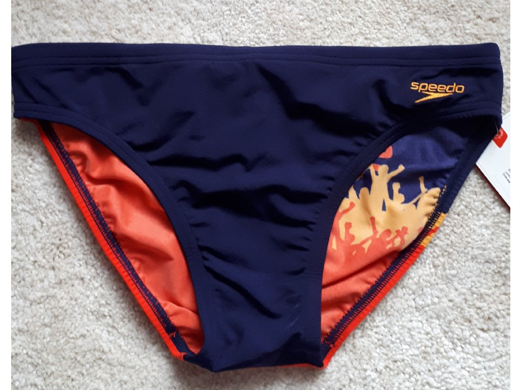 Pánské plavky Speedo Cheering- Navy