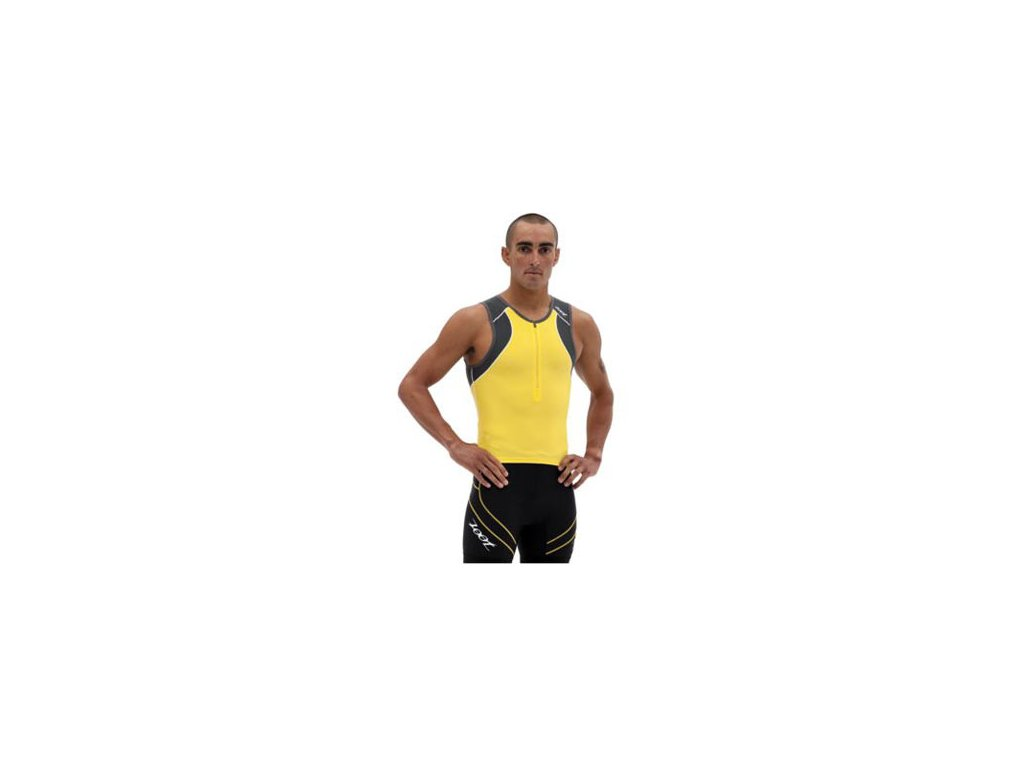 zoot m endurance tri tank shadow pure yellow front 11 m