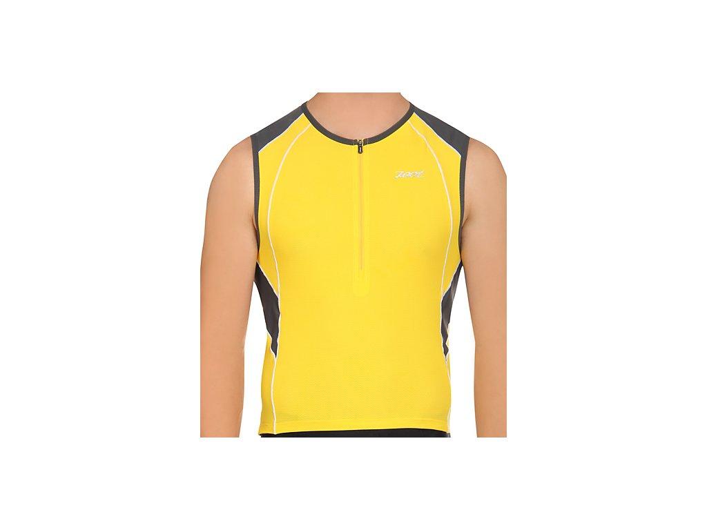 Zoot M Endurance Tri Mesh Top- Yellow