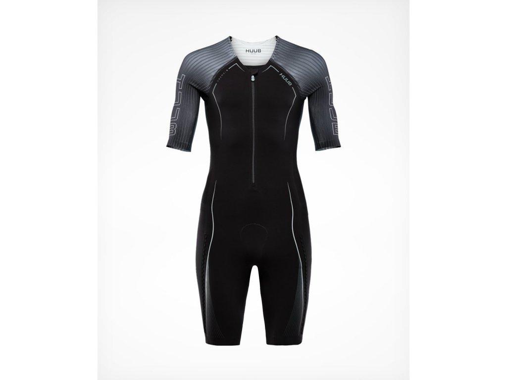 Anemoi Aero Tri Suit Men s Black Black Front 1500x