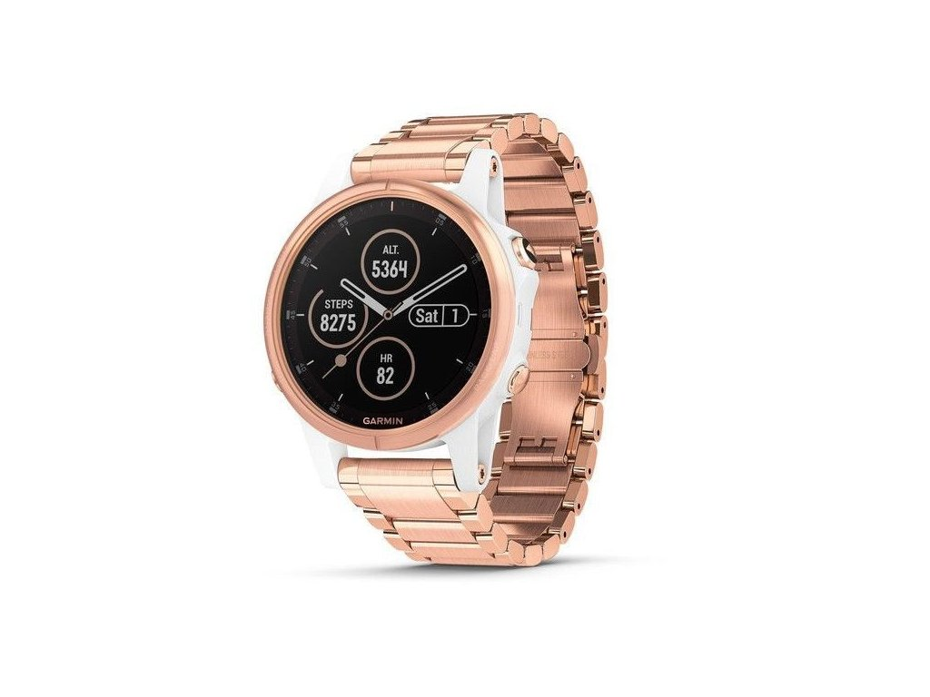 Garmin fenix5S Plus Sapphire White, Rose Gold Metal