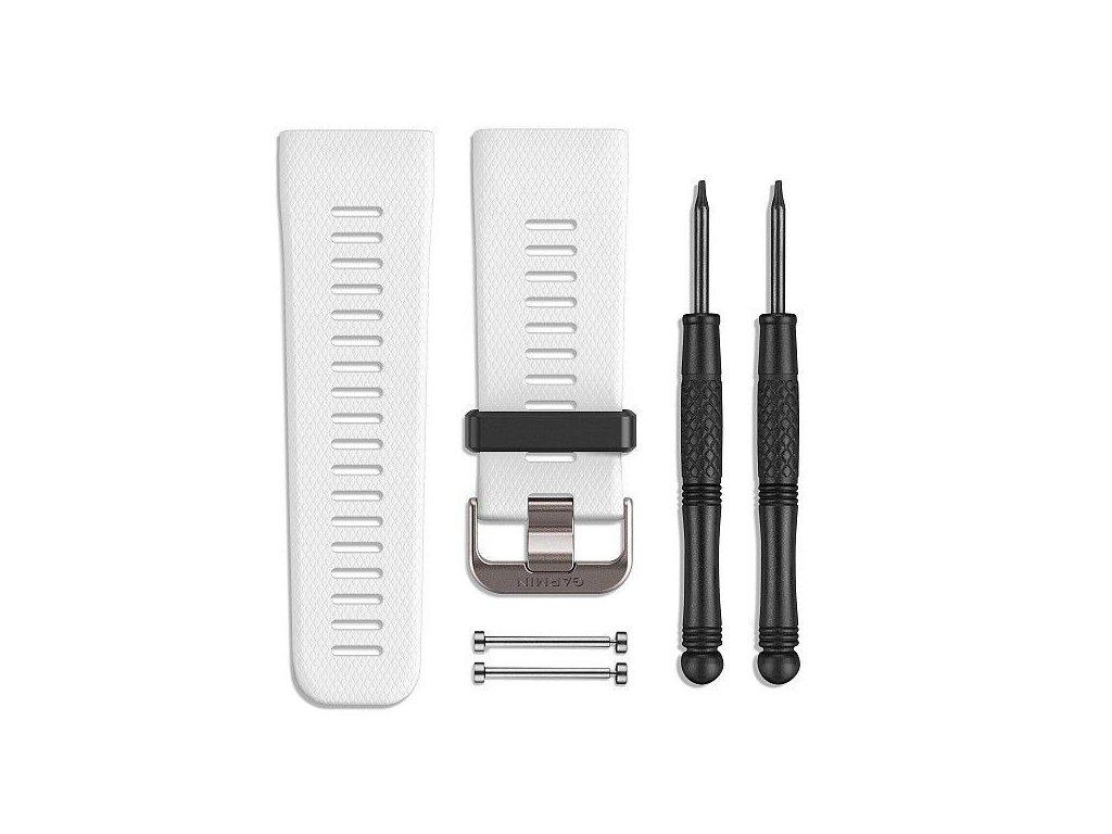 Řemínek pro vívoactive Optic (velikost L), bílý