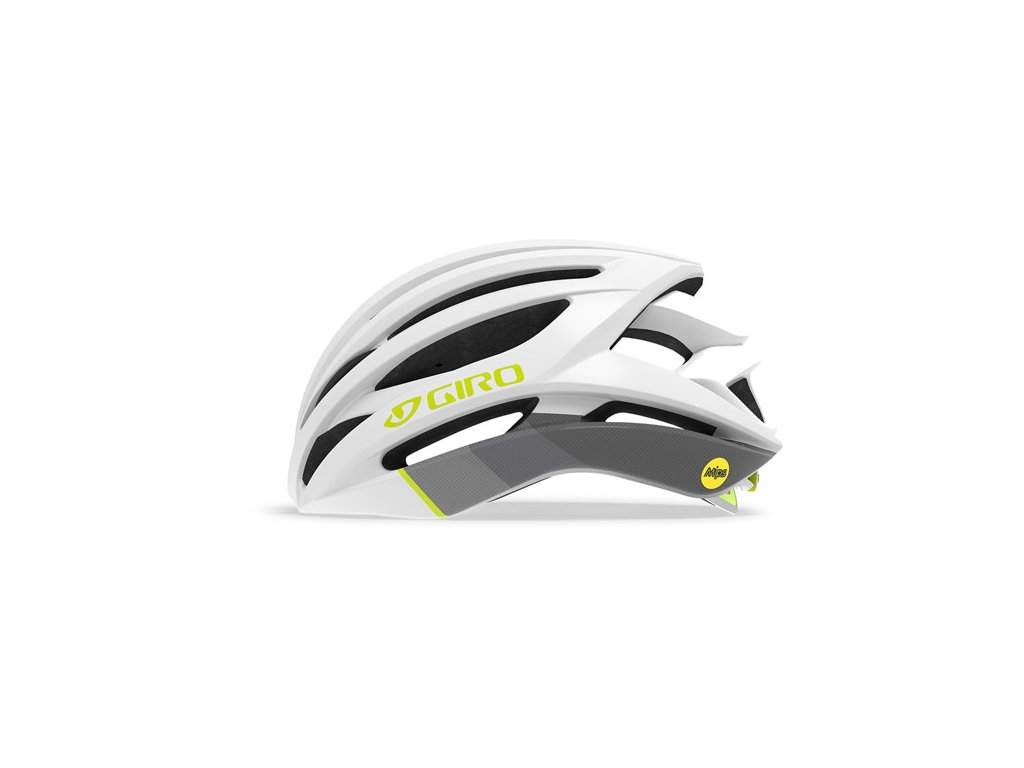 Cyklistická helma GIRO Seyen MIPS White/Grey/Citron