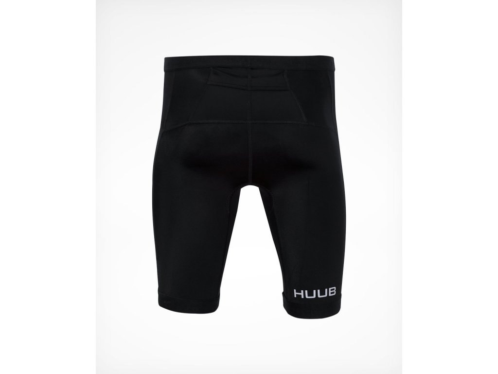 Men s ESSENTIAL Tri Short Black Rear 2000x2000