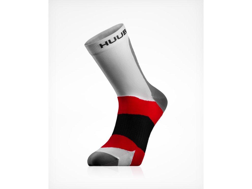 HUUB Active Sock White Front 45 1500x