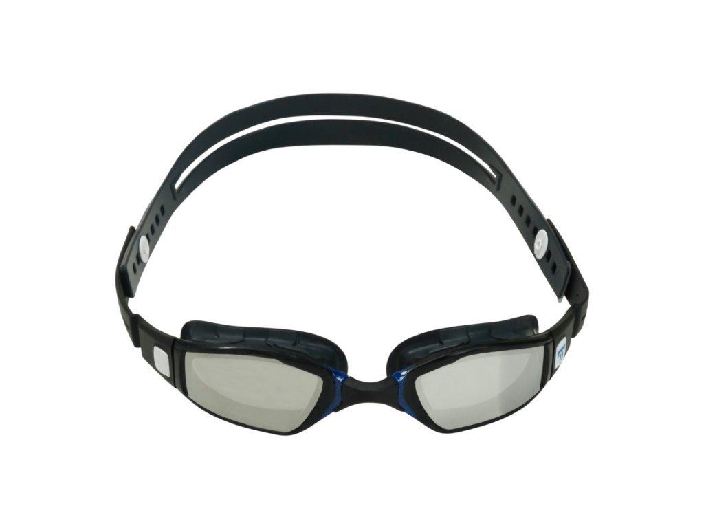 ninja mirror lens grey navy blue front