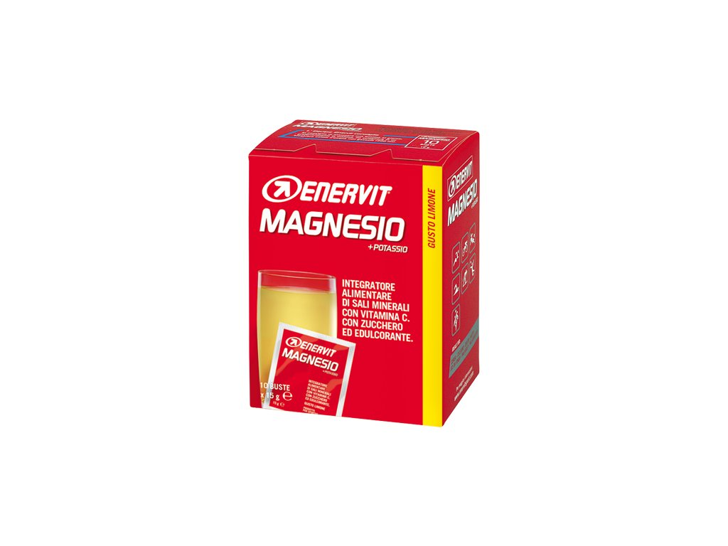 ENERVIT Magnesium Sport citron 10 x 15 g