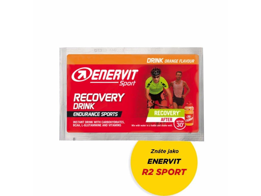 ENERVIT R2 Recovery Drink - 50 g - pomeranč