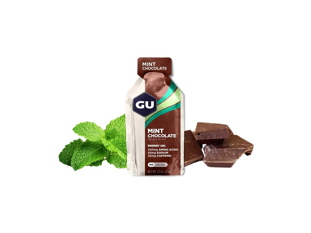 GU Energy Gel 32 g Mint Chocolate 1 SÁČEK (balení 24ks)