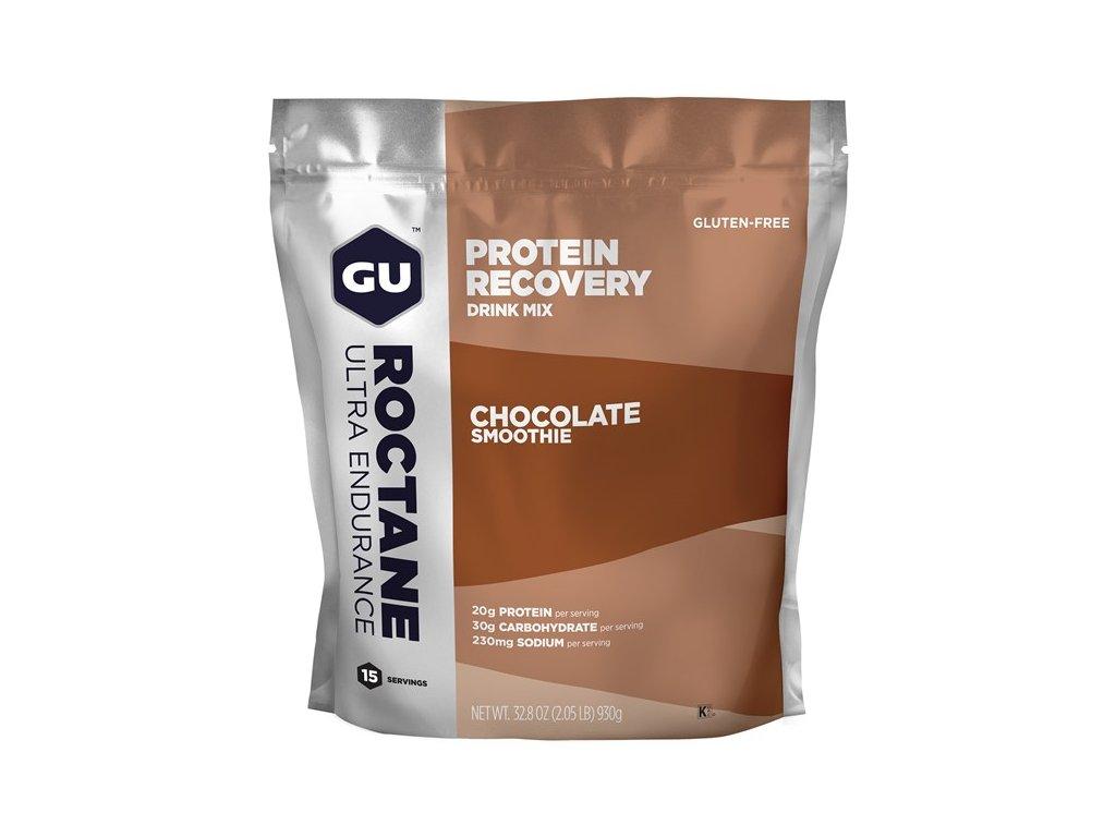 GU Roctane Recovery Drink Mix 930 g Chocolate Smoothie SÁČEK