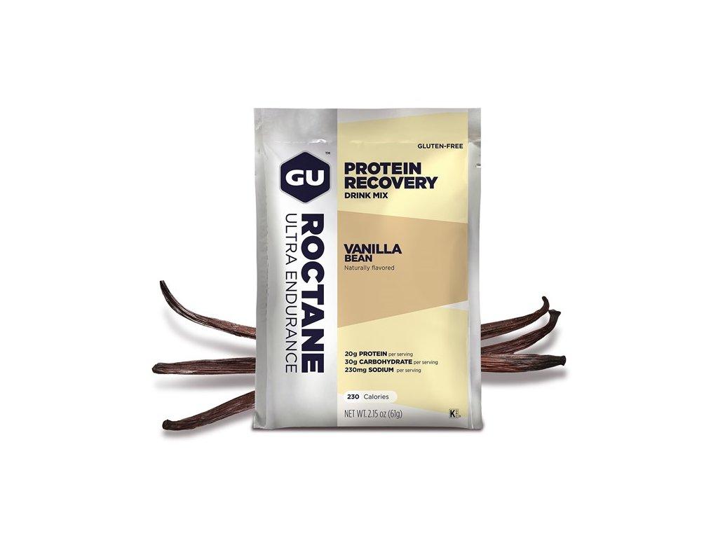 GU Roctane Recovery Drink Mix 61 g - Vanilla Bean SÁČEK