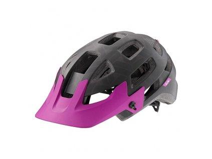 Cyklistická přilba LIV INFINITA, black/purple western