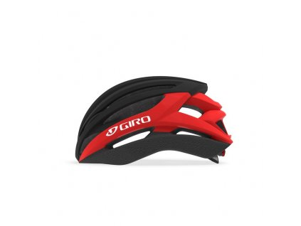 GIRO Syntax Mat Black/Bright Red L